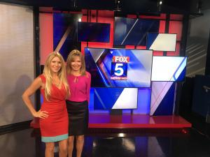 Tammi Pickel and Sherri Murphy of Elite Connections on the News