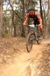 Cross country mountain biking