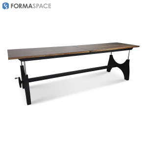 Industrial Height Adjustable Conference Table