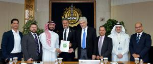 IDB Contract Signing Group Photo