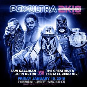 Sami Callihan/Johnny Ultra vs. The Great Muta/Penta El Zero M (c)