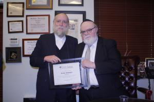 Rabbi Chaim Waldman and Dr. Joshua Weinstein