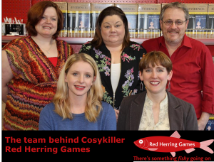 The team behind cosykiller at Red Herring Games in Grimsby
