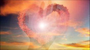 Image of heart & sky by Marcio Alves.