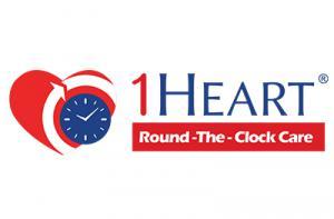 1Heart Round-the-Clock-Care logo
