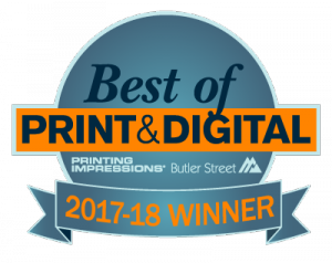 Superior Business Solutions Wins Back to Back Best of Print & Digital Awards