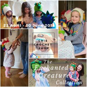 Cris Crochet Shop's Enchanted Creatures Collection