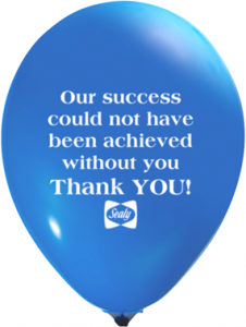 Custom Balloons with Message