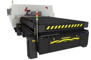 The large format fiber laser cutting Titan FX Series is a state of the art design combining the latest developments in motion engineering automation, PC-based CNC control programing and next-generation high-power Fiber laser technology