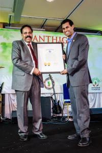 State of New Jersey honors Santhigram for its excellent healthcare services