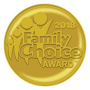 2018 Family Choice Award Seal