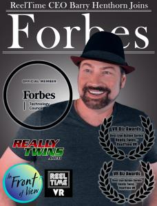 Reeltimes ceo Barry Henthorn joins Forbes Cover