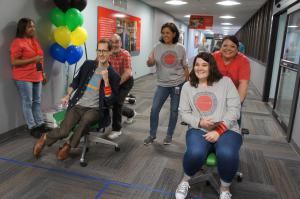 American Fidelity Colleagues Compete in the Office Olympics 2018