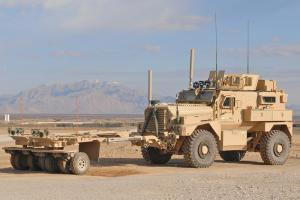 IED Truck doing patrol