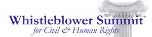 Whistleblower Summit for Civil & Human Rights Logo