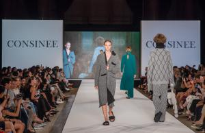 """Consinee """"Into the Lines"""" fashion show"""