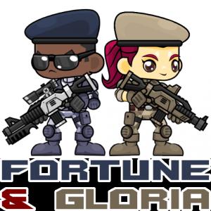 Fortune & Gloria Character Logo
