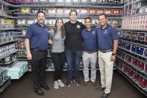 Ed Castillo, VP, Partner Success, Lovingly; Ashley Black and Ryan Black, Marketing Guru and Marketing Director, Jet Fresh; Joe Vega, Ken Garland, Co-Founders, Lovingly