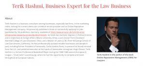 Terik Hashmi, Business Attorney Profile