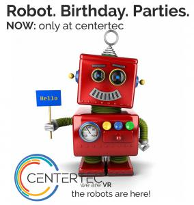 Robot Birthday Parties Only at centertec