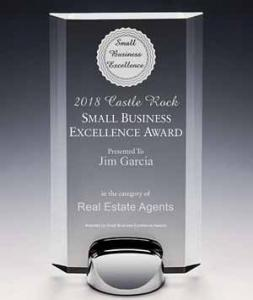 2018 Castle Rock Small Business Excellence Award
