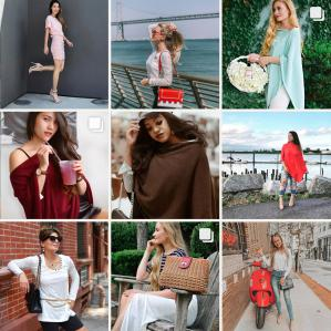 Octoly influencers styling INDIGENOUS sustainable fashion