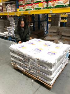 Bread Me in Quantico VA (Dong Kwon Choi, Mihyun Bae) Ms Bae purchasing wholesale supplies