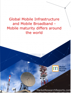 Global Mobile Infrastructure and Mobile Broadband - Mobile maturity differs around the world