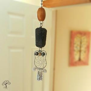 Dreaming Owl Light Pull from Sonora Kay Creations