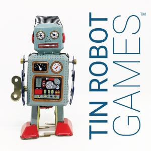 Tin Robot Games Logo