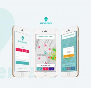 http://www.wandersafe.com is an app available in itunes free to download