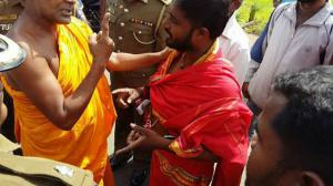 Sinhala Buddhist Came with Many Sinhalese, Using a Technique of Intimidating the Tamils,  Before Seizing the Tamils' Land