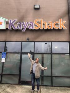 You never know who you will see at the Kaya Shack™
