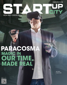 """Paracosma Recognized as one of """"15 Most Promising Virtual Reality Startups 2018"""" (high resolution)"""