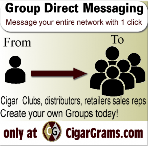 Cigar group messaging