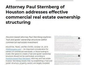 Paul Sternberg of Houston