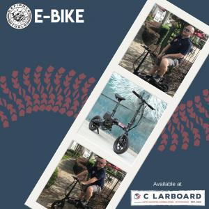 Everyone needs to get places and getting there just got a lot easier and a whole lot more fun! C Larboard offers the Defiance Tools® B2 ebike for holiday 2018 and BEYOND.