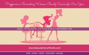 Make a Difference & Enjoy Fun Beauty Reward