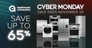 Appliances Connection 2018 Cyber Monday Sale