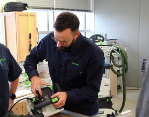 Steeve Cachelou FESTOOL tool training expert