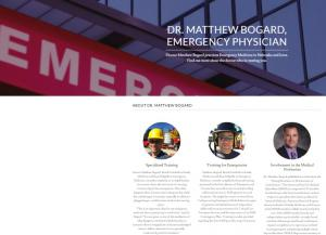 Website of Dr Matt Bogard at matthewbogardmd
