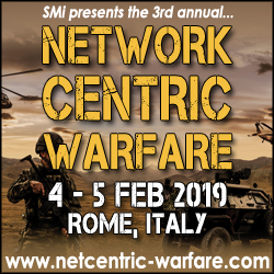 3rd Annual Network Centric Warfare Conference 2019