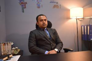 Editor in Chief The Eastern Herald; Muzaffar Ahmad Noori Bajwa