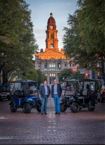 Vice Presidents of Metro Golf Cars
