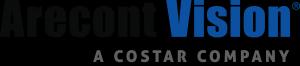 Black blue and gray AV Costar logo, medium rez