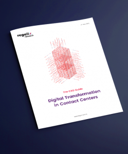 Digital transformation in contact centers